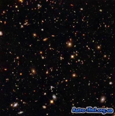 Hubble Ultra Deep Field Infrared View of Galaxies Billions of Light-Years Away