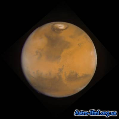 True-Color Image of Mars