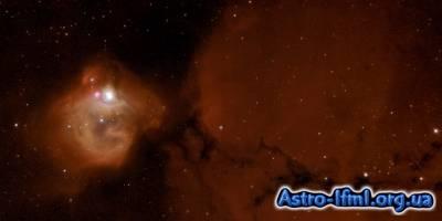 Massive Stars Sculpt Gas of Nebula N83B