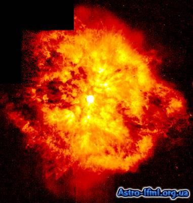 Nebula M1-67 around Star WR124