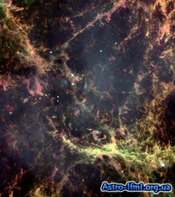 Peering into the Heart of the Crab Nebula