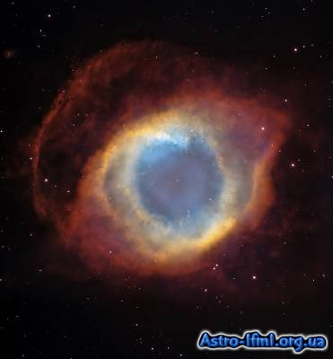 The Helix Nebula, a Gaseous Envelope Expelled By a Dying Star