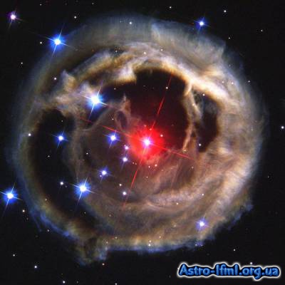 Light Echoes From Red Supergiant Star V838 Monocerotis