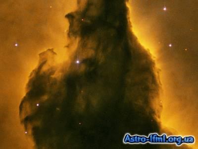 Eagle Nebula Pillar Detail - Portion of Base