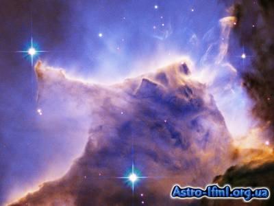 Eagle Nebula Pillar Detail - Portion of Top