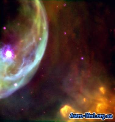 The Bubble Nebula