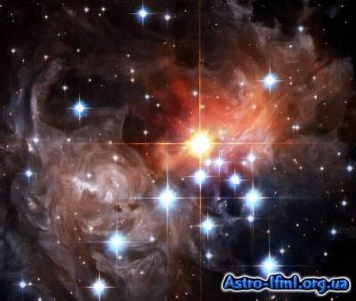 Close-Up of Light Echo Around V838 Monocerotis